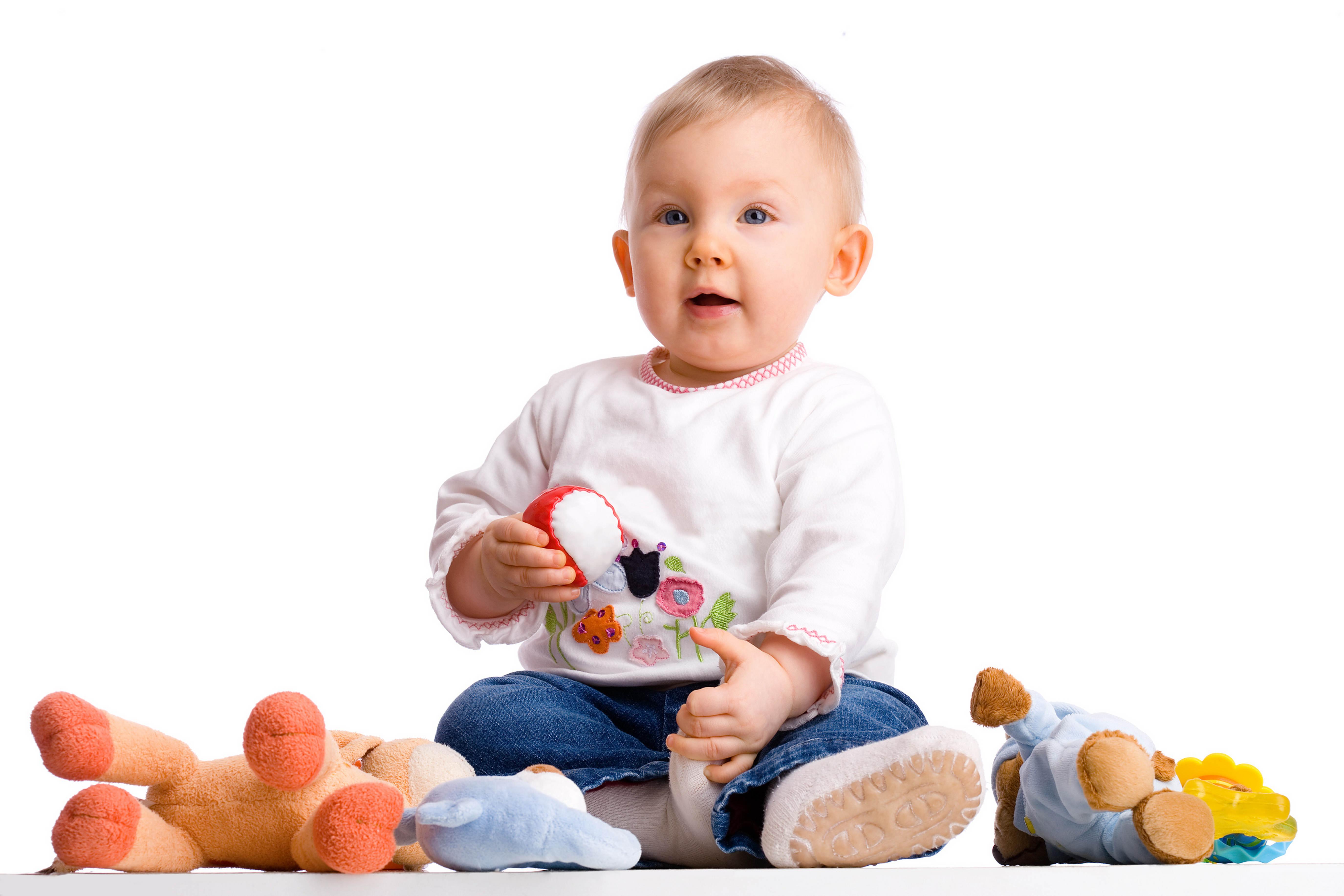 Дети с игрушками. Общий фотоальбом 33